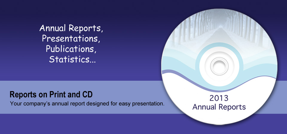 Annual Report, CDs, Publications