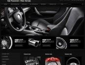 Website designed for an auto parts procurement company in Denver Colorado.